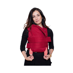 Marsupi Babytrage Babytrage classic 2.0, XL rubinrot/ruby red rot