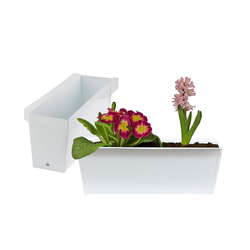 BigDean Blumenkasten Pflanzkasten Palette Paletten Pflanzkübel 35,5 x 12,5 x 12 cm Palettenkasten (8 Stück)