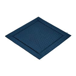 Julius Zoellner Baby-Decke Play-Mat Pique night blue