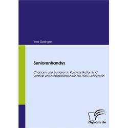 Seniorenhandys als Buch von Ines Geringer