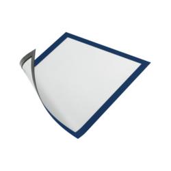 Magnetrahmen. magnethaftende Rückseite A4 Farbe blau