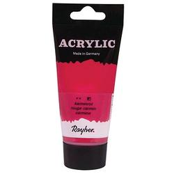 Rayher Acrylic Acrylfarben karminrot 75,0 ml, 1 St.