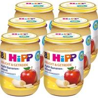 HiPP Bio Frucht & Getreide Apfel-Bananen-Müesli 6 x 190 g