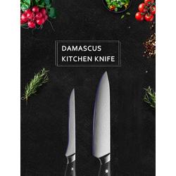 Muxel Ausbeinmesser Messer Set Damaskus Kochmesser und Ausbeinmesser