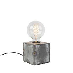 Industrielle Tischlampe grau - Samia