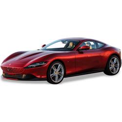 Bburago Sammlerauto Ferrari Roma, 1:24 rot Kinder Modellautos Modellfahrzeuge Autos, Eisenbahn Modellbau