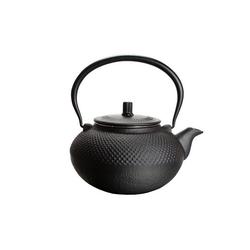 BigDean Teekanne aus Gusseisen 1,5L Asia Japan Style Teesieb Tee Kanne, Gusseisen