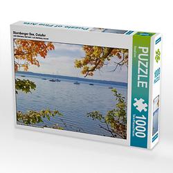 Starnberger See, Ostufer Lege-Größe 64 x 48 cm Foto-Puzzle Bild von SusaZoom Puzzle