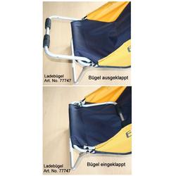 Ausklappbarer Ladebügel für BEACH-ROLLY blau