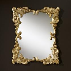 Casa Padrino Barock Wandspiegel Antik Stil Gold 92 x 110 cm - Barocker Spiegel