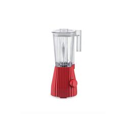 Alessi Standmixer Standmixer Plissé - Farbwahl, EU Stecker, Elektrische Leistung 700 Watt rot