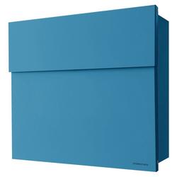 Radius Briefkasten Radius Briefkasten Letterman 4 blau Wandbriefkasten 560n