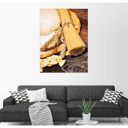 Posterlounge Wandbild, Hausgemachte Nudeln 70 cm x 90 cm