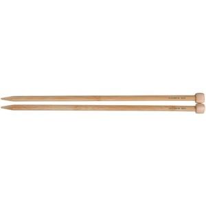 Clover Takumi Stricknadeln Bambus Single Point Stricknadeln 13bis 14-inchsize 10/6, andere, Mehrfarbig
