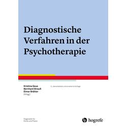 Diagnostische Verfahren in der Psychotherapie: eBook von