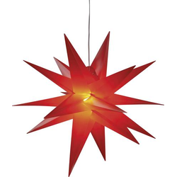 HGD CAS5161 LED-Weihnachtsstern LED Rot Timer