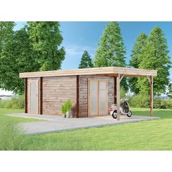 Gartenhaus Modern-D mit Schleppdach, ohne Imprägnierung