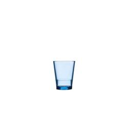 Mepal Becher Kunststoff Becher Kunststoffglas Flow, Kunststoff blau