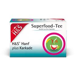 H&S Hanf plus Karkade Filterbeutel 20X1.3 g