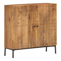 vidaXL Sideboard vidaXL Sideboard 75 x 30 x 75 cm Massivholz Mango