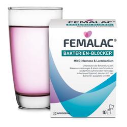FEMALAC Bakterien-Blocker Pulver 10 St