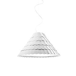 Roofer Pendelleuchte F12 A03 Ø:72cm, Weiß