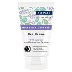 OLIVAL Deo Creme - Minze und Lavendel 50ml