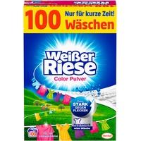 Weißer Riese Colorwaschmittel 100 Waschladungen, extra stark gegen Flecken,
