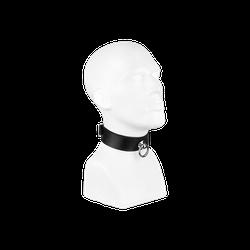 Rimba Halsband mit großem Ring, M/L