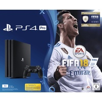 Sony PS4 Pro 1TB schwarz + FIFA 18 (Bundle) ab 439.00 € im Preisvergleich