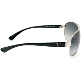 Ray Ban RB3386 silver-black / grey gradient