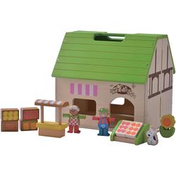 EverEarth® Puppenhaus Bio-Laden Puppenhaus