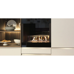 Cabinet Fire - Einbau Ethanol Kamin für die Küche 60 cm
