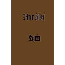 Bethmann Hollwegs Kriegsreden. Theobald von Bethmann Hollweg  - Buch