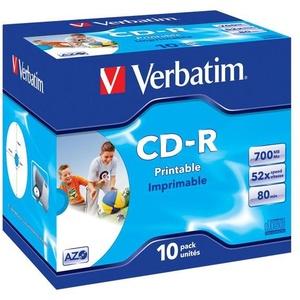 Verbatim CD-R InkJet 10er JC, bedruckbar