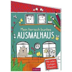 Buch - Mein tierisch buntes Ausmalhaus
