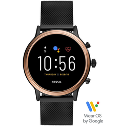 Fossil Smartwatches JULIANNA HR SMARTWATCH, FTW6036 Smartwatch (1.28 Zoll, Wear OS by Google, mit individuell einstellbarem Zifferblatt)