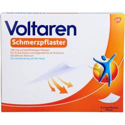 VOLTAREN Schmerzpflaster 140 mg wirkstoffh.Pflast. 5 St.