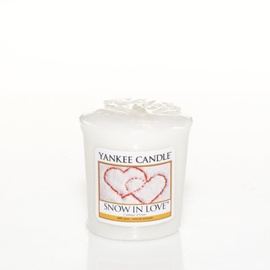 Yankee Candle Votivkerze SNOW IN LOVE 49 g Duftkerze Sampler