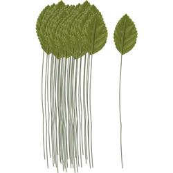 Kunstpflanze, VBS, 1 Stück 2 cm x 3.3 cm