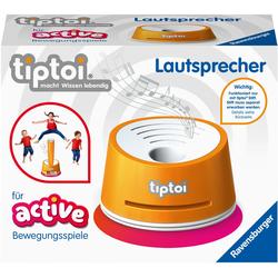 Ravensburger Spiel tiptoi ACTIVE Lautsprecher, für den tiptoi-Stift; FSC - schützt Wald weltweit; Made in Europe orange Kinder Tiptoi Lernspielzeug