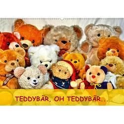 TEDDYBÄR OH TEDDYBÄR... (Wandkalender 2021 DIN A2 quer)