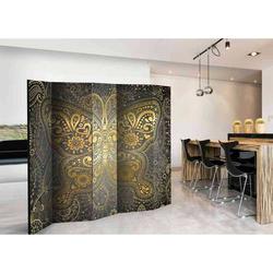 Paravent im orientalischen Design Schmetterling Motiv