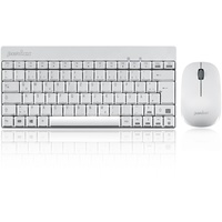 PERIXX PERIDUO-712 Wireless Tastatur DE Set weiß (11181)