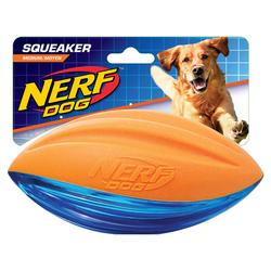 Nerf Dog Football TPR/Schaumstoff orange/blau