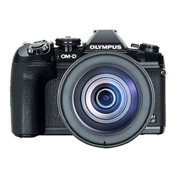 Olympus E-M1 Mark III 12-100mm Kit blk/blk Spiegelreflexkamera (21,8 MP, WLAN (WiFi), Bluetooth)