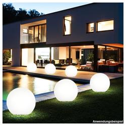 etc-shop LED Gartenstrahler, LED Außenleuchte Außenbeleuchtung Beleuchtung Gartenleuchte Lampe Leuchte 2er-Set