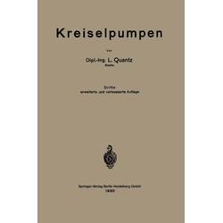Kreiselpumpen als Buch von Ludwig Quantz