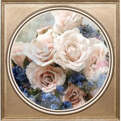 queence Acrylglasbild Bunter Blumenstrauß III