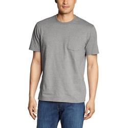 Eddie Bauer T-Shirt Legend Wash Pro - Kurzarm mit Tasche grau L